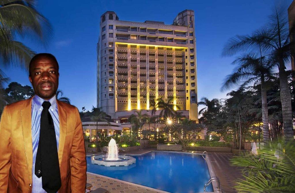 Louis Michel Nekam Presidente AEDIC Hilton Yaoundé
